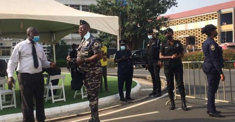 Election Petition: Heavy security presence at Supreme Court