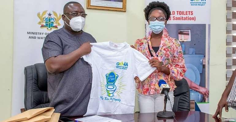 GAMA SWP pledges support for child sanitation diplomat