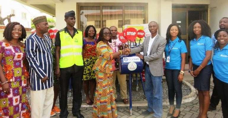 OmniBank Donates To Road Safety Commission As It Advocates Child Safety