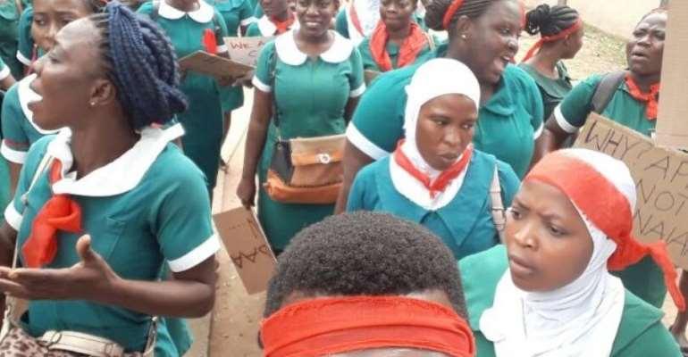 Rotation Nurses In Upper East Region Declare Strike Over Unpaid Allowances