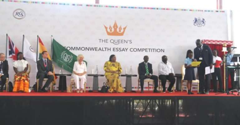 The Queen's Commonwealth Essay Competition, 2019 Launched