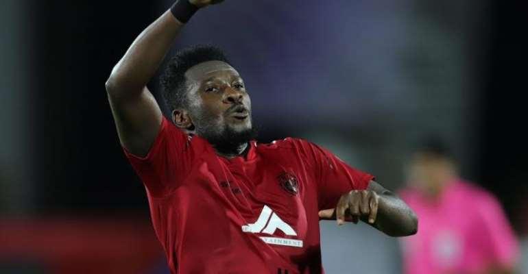 Asamoah Gyan Eyes More Goals Against Hyderabad