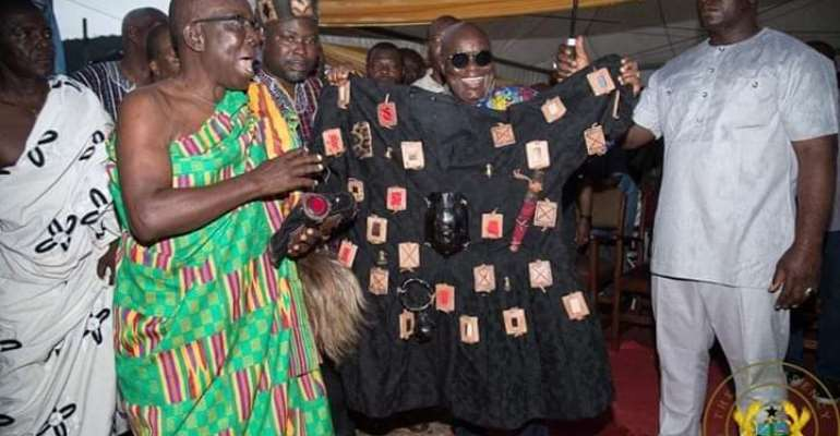 Relieve  Me Of The Burden And Vote 'Yes' To Choose Your Own MMDCEs — Akufo-Addo