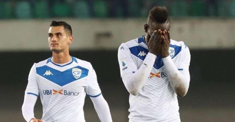 Verona Handed Partial Stadium Ban For Balotelli Racial Abuse