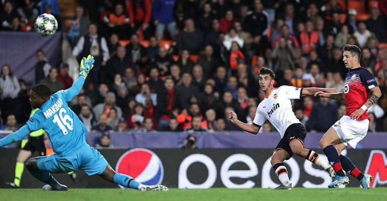 UCL: Valencia Roar Back In Second Half To Thrash Lille