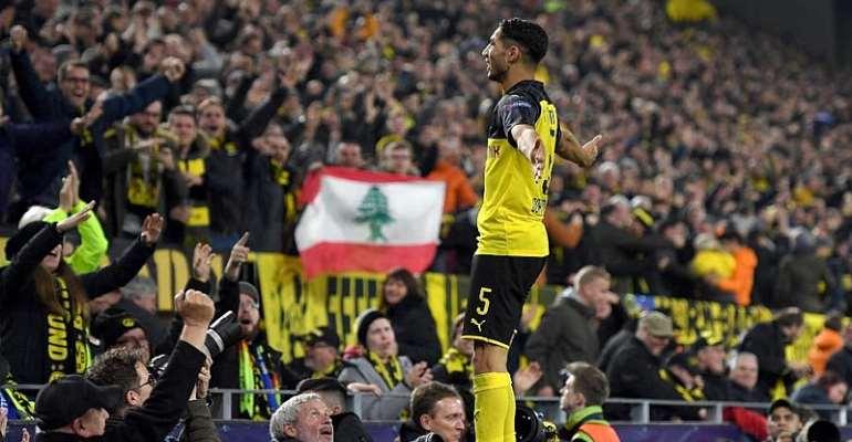 Hakimi Double Seals Stunning Dortmund Win Over Inter