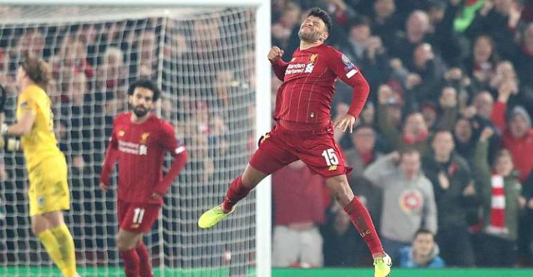 UCL: Oxlade-Chamberlain Puts Liverpool On Brink Of Knockouts