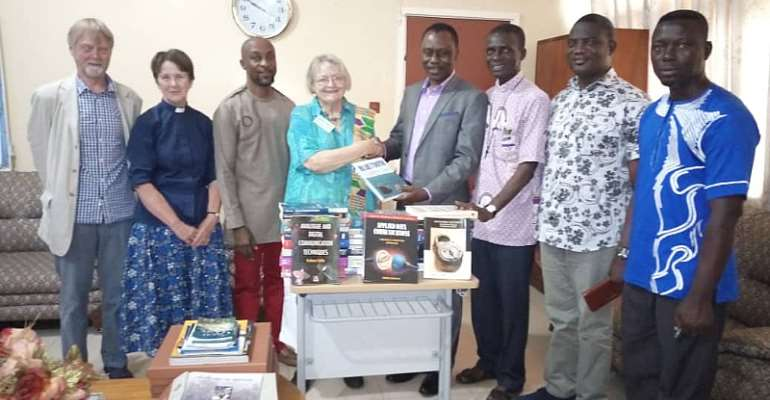 Retired UK Lecturer Donates To Sunyani Technical University