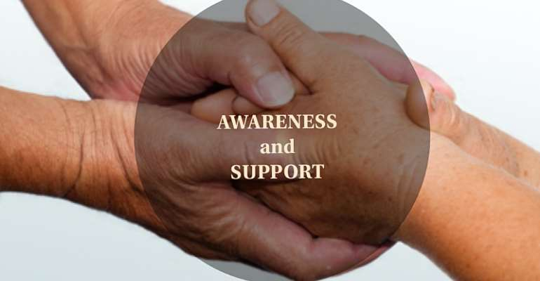 Awareness And Support Promotes Healing