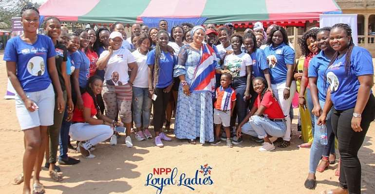 First Lady, NPP Loyal Ladies Hold Breast Cancer Awareness In Bortianor
