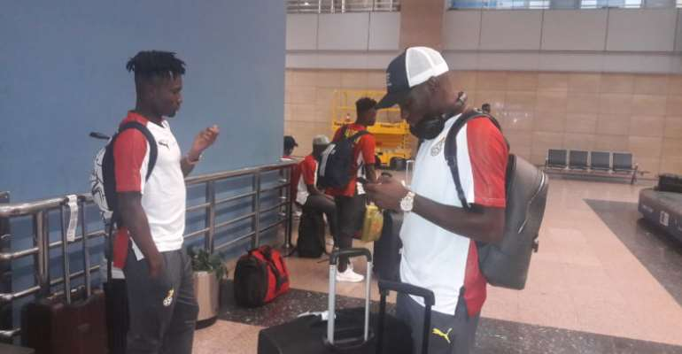CAF U-23 AFCON: Black Meteors Arrive In Egypt For Tournament