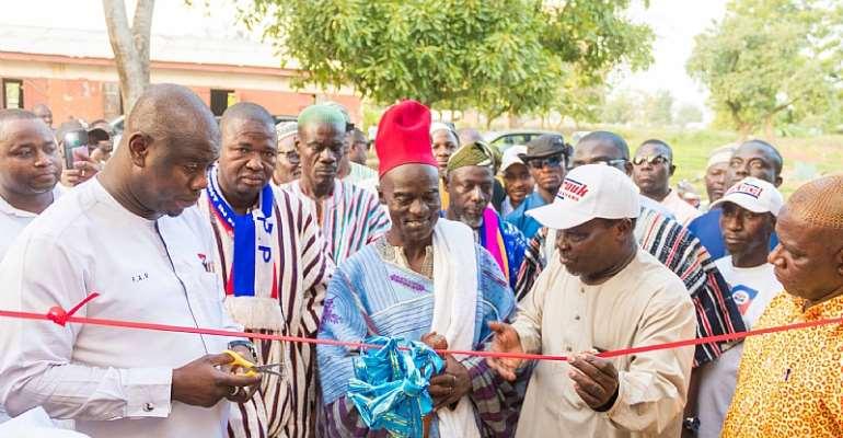 Yendi: Farouk Aliu Mahama Commissions Adibo Market