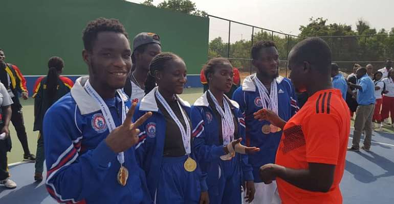 UEW increases its share of gold medals at GUSA 2020 games