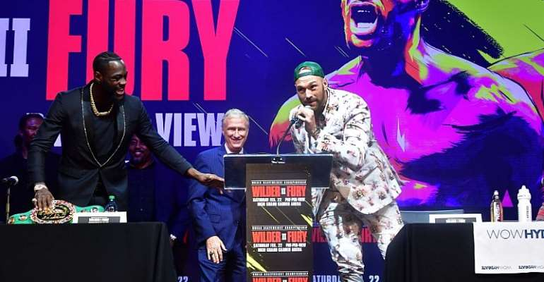 Tyson Fury Predicts Round Two KO In Deontay Wilder Rematch