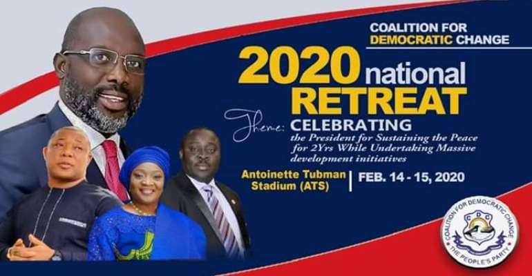 CDC National Retreat 2020: Matching Towards A New Dawn – The Era Of A Rising Liberian Republic