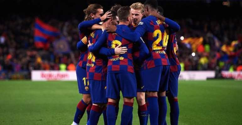 Barcelona Knock Real Madrid Off Top Of Money League