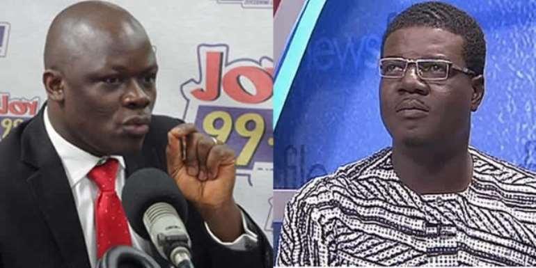 Samson Anyenini (L) and Rockson Dafeamekpor