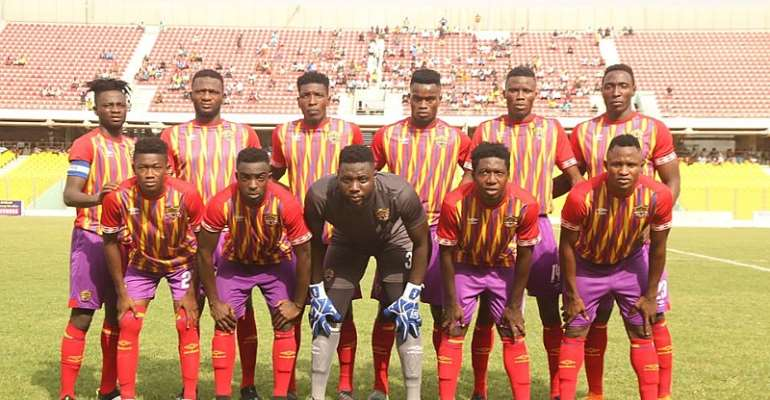 Confirmed Hearts Of Oak Lineup To Face WAFA; Esso Leads Attack With Kordzi