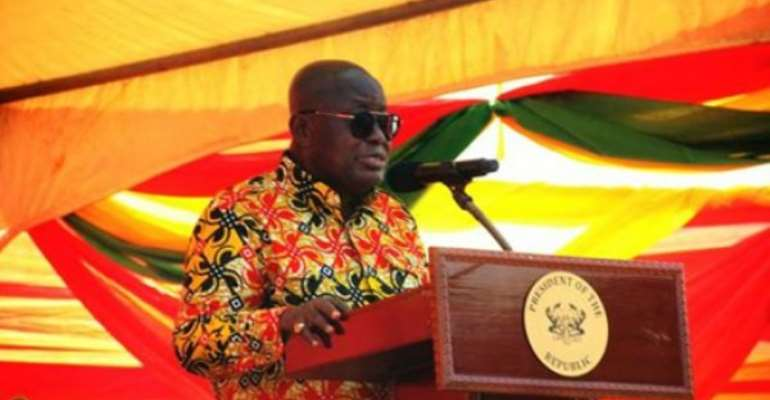 Akufo-Addo Inaugurates Ghana Rural Telephony And Digital Inclusion Project