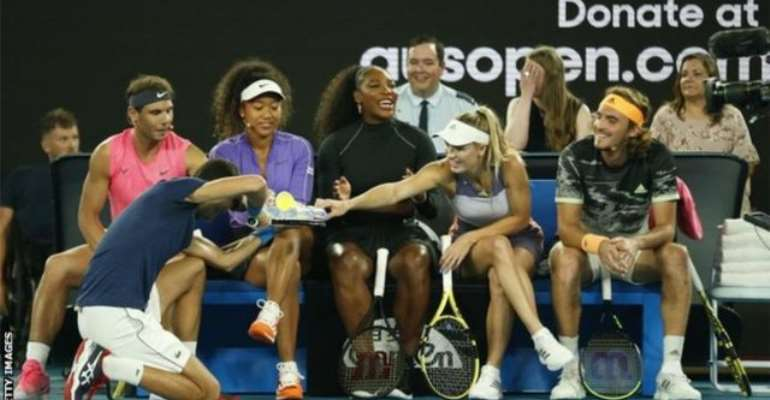 Rally For Relief: Federer, Serena And Djokovic Play In Charity Match