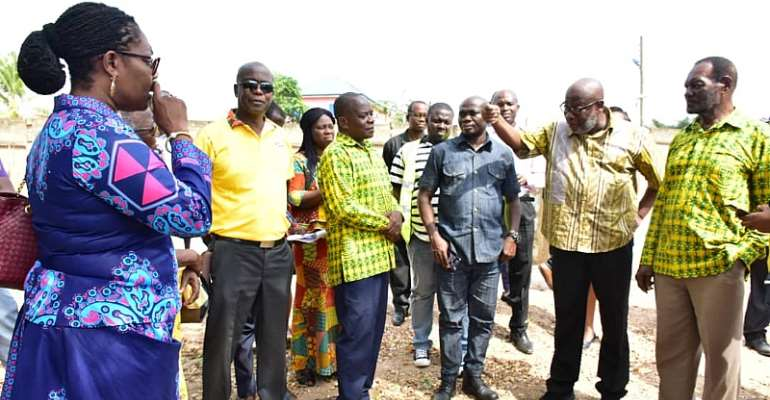 Dansoman Community Set To Benefit From Multipurpose ICT Library And Robotics Center
