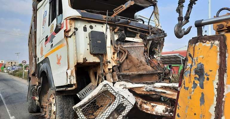 C/R: One dead, two severely injured in car crash on Kasoa-Budumburam stretch