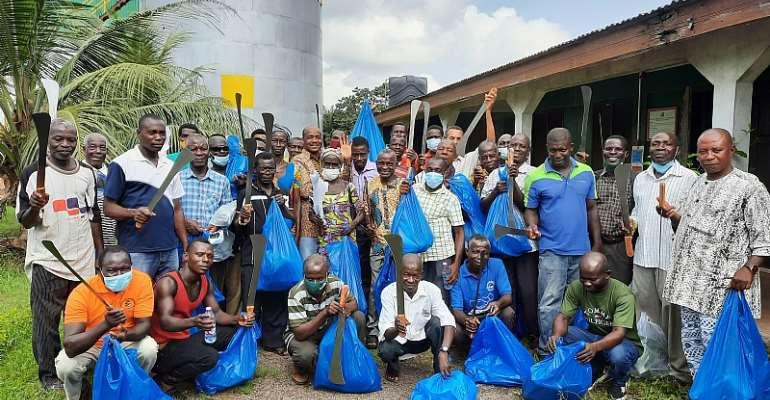 700 farmers benefit from B-BOVID's COVID-19 relief package