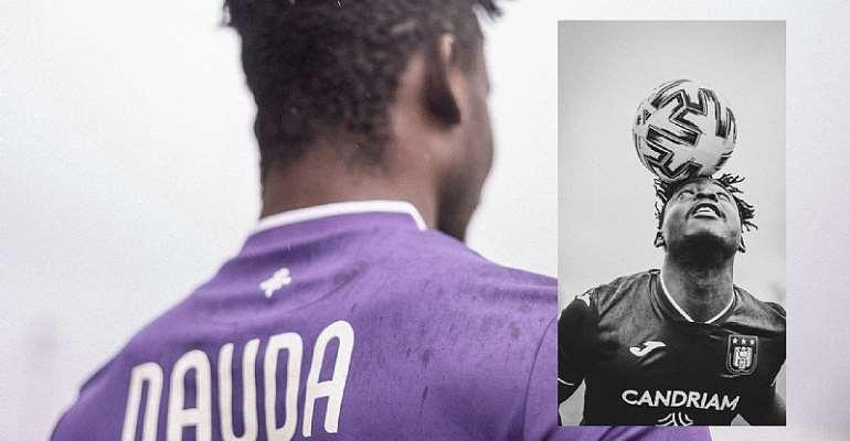 OFFICIAL: Ghanaian striker Dauda Mohammed signs new deal with Anderlecht