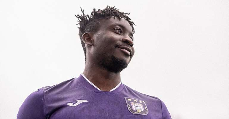 Striker Dauda Mohammed named in RSC Anderlecht squad for KAS Eupen clash today