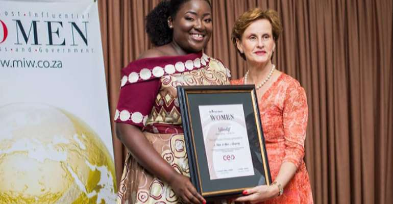 Young Female Entrepreneur Wins Prestigious Award
