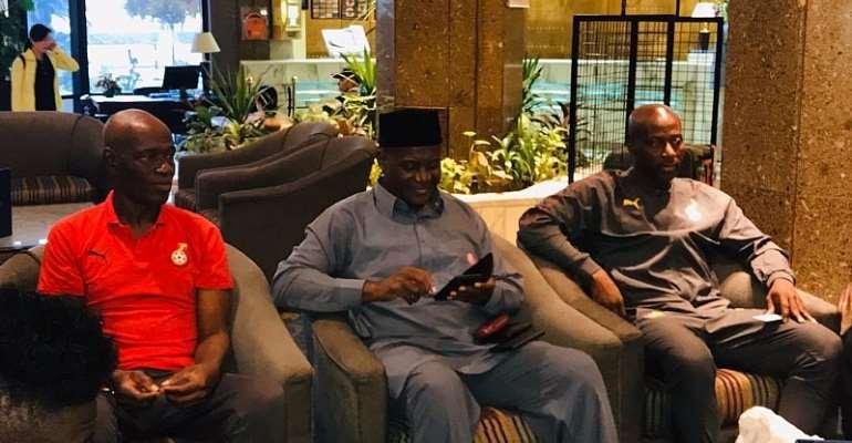 CAF U-23 AFCON: Ghana's Ambassador To Egypt Visits Black Meteors In Camp