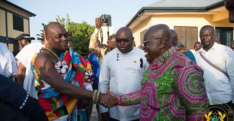 [Watch] God Is Not Wicked To Bring Mahama Back – Akufo-Addo