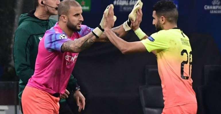 UCL: Keeper Chaos Sees Walker Don Gloves As City Draw At Atalanta