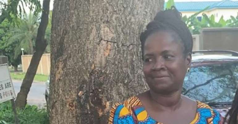 Patience Agordzo is wife of the suspected senior police officer in the coup plot allegation