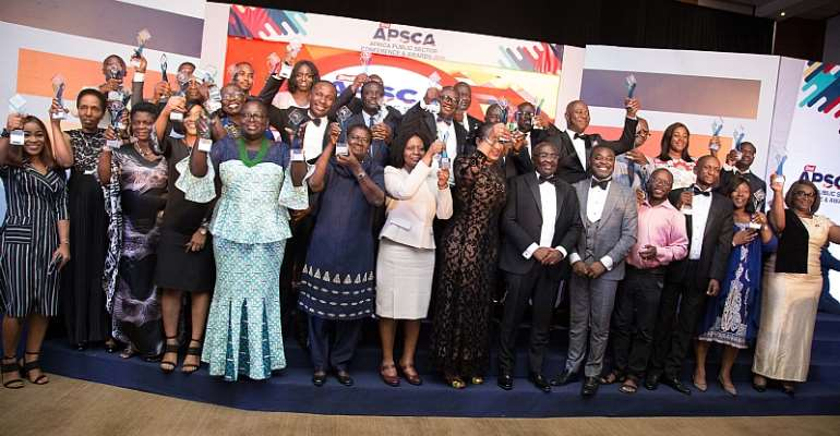 Public Servants Honoured At 2nd Africa Public Sector Conference & Awards In Ghana