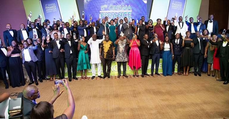 Leaders In Ghana's Finance Sector Celebrated At 2019 GFIA