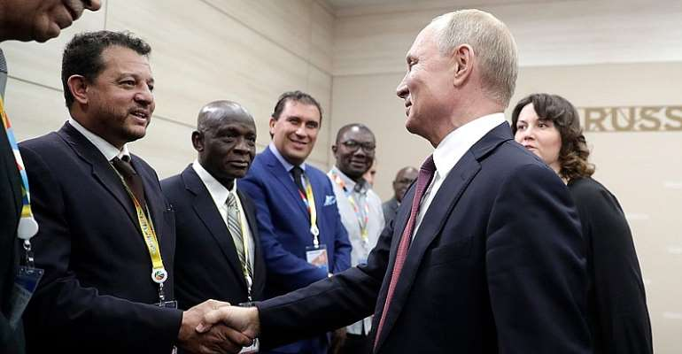 Media Debates As Russia Pushes Into Africa