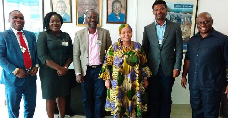 Care Right Foundation Calls On SA Ambassador