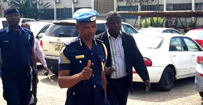 ACP Agordzo appeared in court Wednesday.