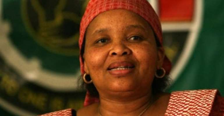 Foreign Minister Goodbyes Outgoing South Africa High Commissioner