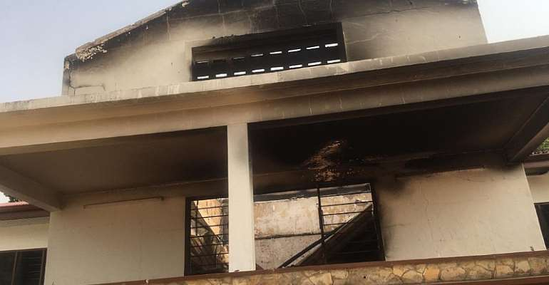 Accra Academy Counts Losses After Fire Incident; Appeals For Help