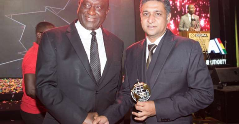 Mr. Arun Patil, Managing Director- West Africa, Cresta Group, Right, With Hon. Alan Kyerematen, Trade & Industry Minister Of Ghana