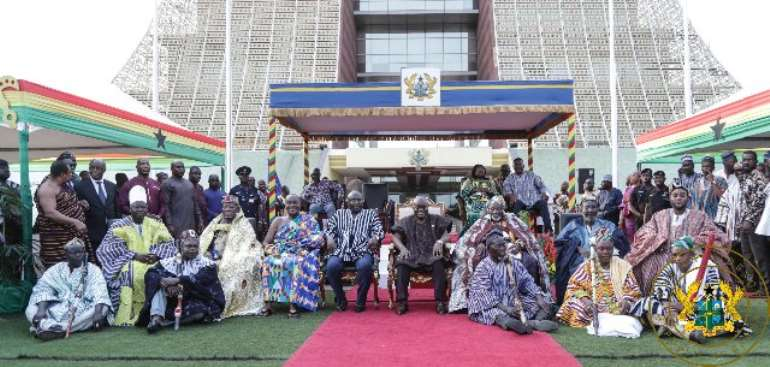 Dagbon Is Now Well Positioned For Greater Days--Akufo-Addo
