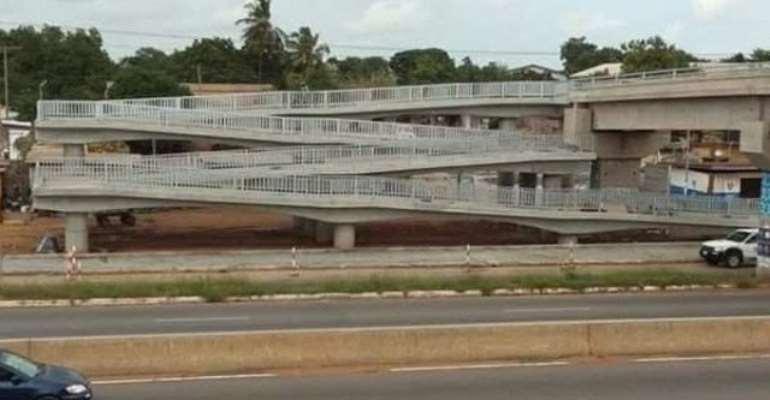 165 Persons Prosecuted For Jaywalking Madina-Adentan Footbridges In 2019