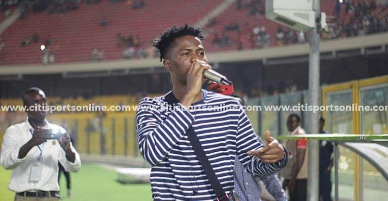 GHPL: Kwesi Arthur Lights Up Accra Sports Stadium In Legon Cities, Ashgold Stalemate [PHOTOS]