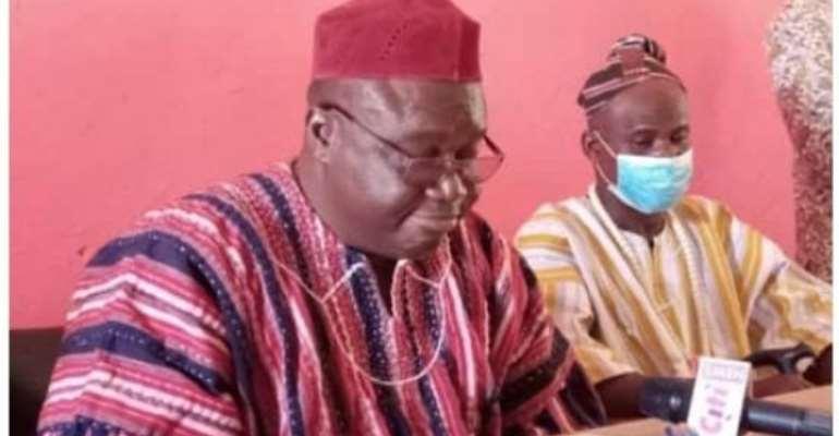 Chiefs and Queen mothers of Nadowli-Kaleo congratulate Alban Bagbin