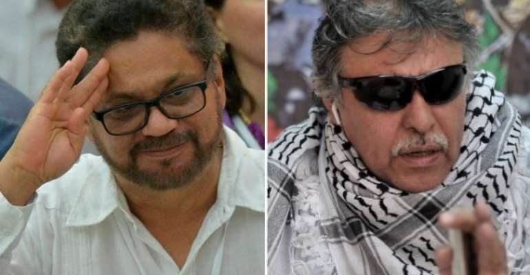 Twitter suspends several accounts of former FARC commanders