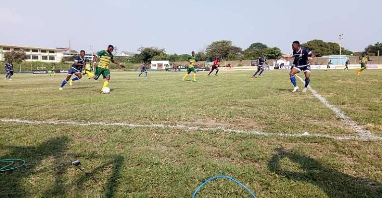 GHPL: Resilient Ebusua Dwarfs record 2-1 comeback win against Liberty Professionals