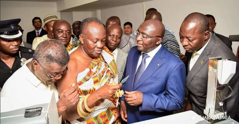 Speech Delivered By Vice President Bawumia At Launch Of Smart Cards