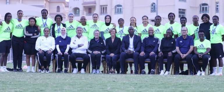 Three Ghanaian Coaches In Cairo For Women's Football Course